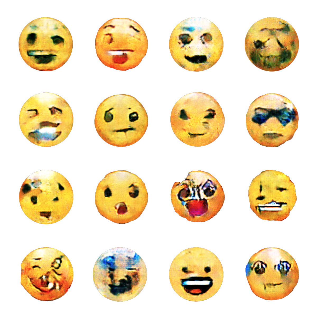 AImoji: AI-generated Emoji — Process — Studio for Art and Design